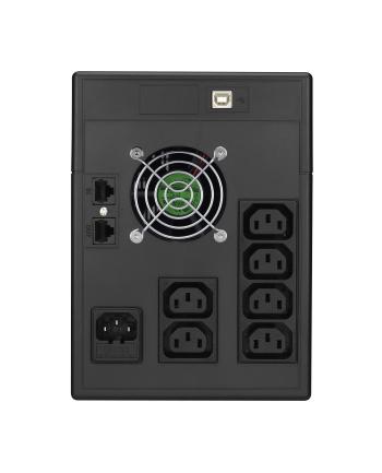 Power Walker UPS Line-Interactive 1500VA 6x IEC C13,PURE SINE, RJ11/RJ45,USB,LCD