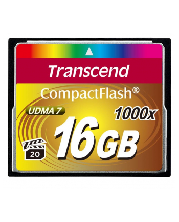 Transcend karta pamięci 16GB Compact Flash 1000x