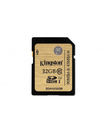 Kingston karta pamięci SDHC 32GB SDHC Class10 UHS-I Ultimate (transfer do 60MB/s