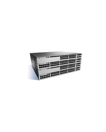Cisco Catalyst 3850 48 Port 10/100/1000 PoE+, 1100W AC PS, LAN Base