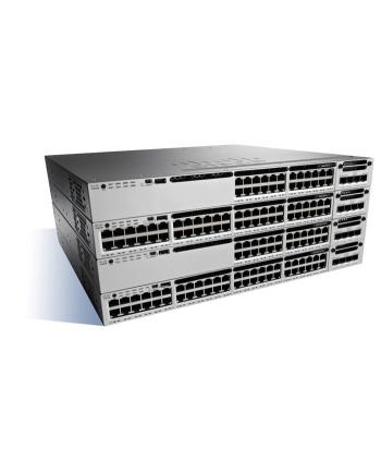 Cisco Catalyst 3850 48 Port 10/100/1000 Data, 350W AC PS, IP Base