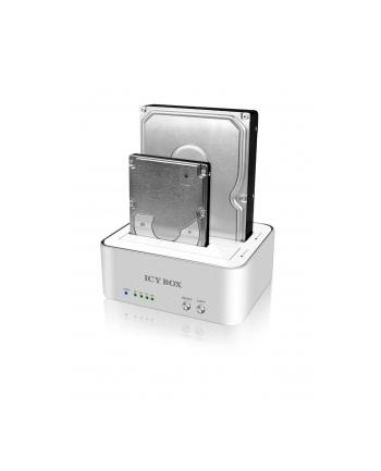 ICY BOX Stacja dok.+klonująca dla 2,5''+3,5'' SATA HDD/USB 3.0