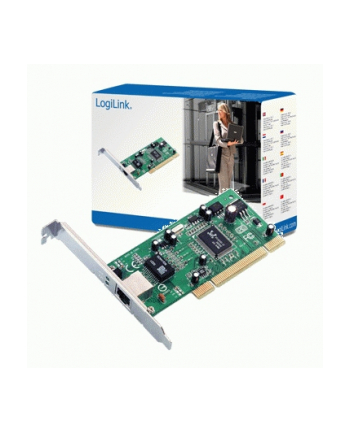 Logilink PCI card 10/100/1000 LAN MBit