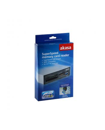CZYTNIK KART USB 3.0 AK-ICR-14 CF/SD 6slot