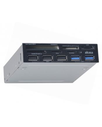CZYTNIK KART USB 3.0 AK-ICR-17 USB 2.0 HUB
