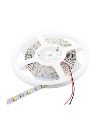 Whitenergy taśma LED 5m | 120szt/m | SMD3528 | 4.8W/m | ciepła biała | bez kon