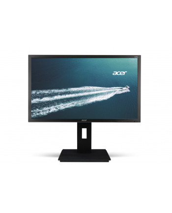 Acer LED B226WLymdpr 22'' 16:10 5ms 100M:1 DVI DP HAS pivot szary TCO6.0
