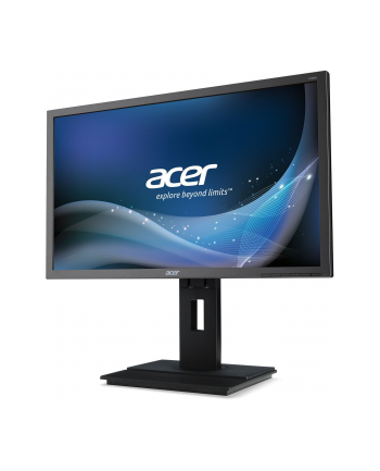 Acer LED B246HLymdpr 24'' 16:9 FHD 5ms 100M:1 DVI DP HAS pivot grey TCO6.0