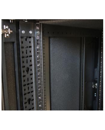 Wyciszona szafa AR4018IA 18U z modułem dystrybucji zasilania