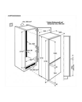 Chlodziarko-zamrazarka Electrolux    ENN12801AW