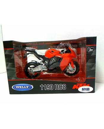 WELLY Motocykl KTM 1190RC8