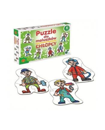 ALEXANDER Puzzle dla Maluszków Chłopcy