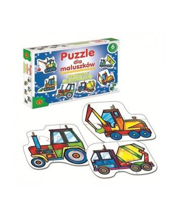 ALEXANDER Puzzle dla Maluszków Maszyny