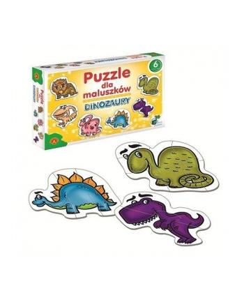 ALEXANDER Puzzle dla Maluszków Dinozaury