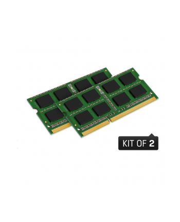 Kingston 2x4GB 1333MHz DDR3 Non-ECC CL9 SODIMM SR X8