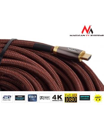 Przewód HDMI-HDMI v1.4 30m Maclean MCTV-623 wzmacniacz