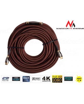 Przewód HDMI-HDMI v1.4 50m Maclean MCTV-625 wzmacniacz