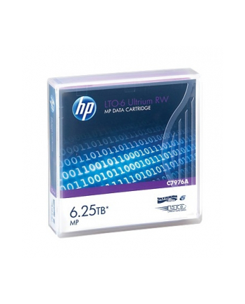 HP LTO-6 Ultrium 6.25TB MP RW Data Tape