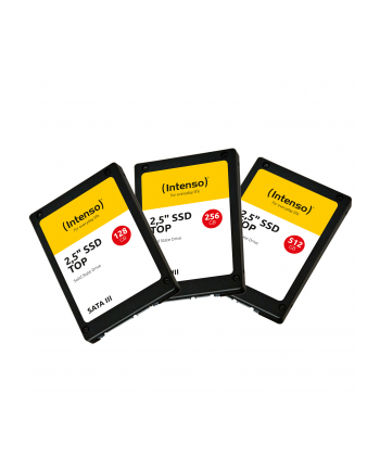 """SSD DYSK WEWNĘTRZNY INTENSO 256GB SATA III 2.5"""" TOP"""