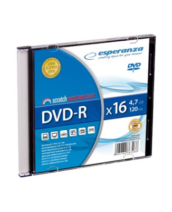 DVD-R ESPERANZA [ slim jewel case 1 | 4.7GB | 16x ]