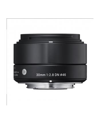 Obiektyw Sigma EX 30mm F2.8 DN for Micro Four Thirds Black