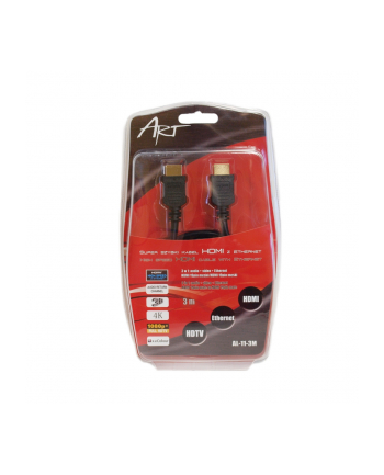ART KABEL HDMI 1.4 m/m 3m ETHERNET 3D AL-11