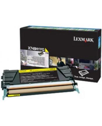 Lexmark  X748 Yellow Corporate Toner Cartridge (10K)