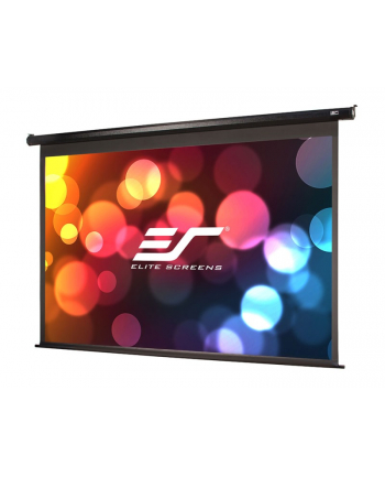 Elite Screens Electric100H Spectrum Screen 100'' 16:9 / Diagonal 250cm, W 221,5cm x 124,5cm /  Black case / Electric-motorized screen / Wall & ceiling installation / 160 Degrees viewing angle / Infrared remote control / 12 volt trigger / Ea