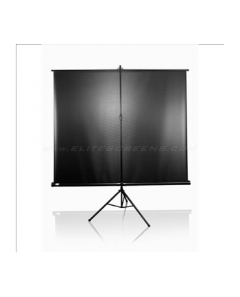 Elite Screens T120UWH Tripod Pull Up Screen 120''/ 59'' X 105'' /1:1 HDTV Black Case