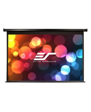 Elite Screens VMAX150UWH2 Electric Screen 150'' 16:9 / Diagonal 381cm, W 332cm x H 186.9cm / Black case / 160° view angle / MaxWhite material / Gain 1.1 / IR remote controlinstallation / 160 Degrees viewing angle / Infrared remote control