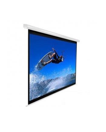 Elite Screens VMAX150XWH2 Electric Screen 150'' 16:9 / Diagonal 381cm, W 332cm x H 186.9cm / White case / 160° view angle / MaxWhite material / Gain 1.1 / IR remote controlinstallation / 160 Degrees viewing angle / Infrared remote control