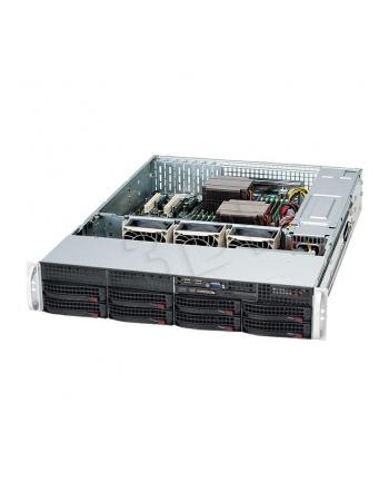 2U, 560W PS (Gold Level), 8x 3.5'' Hot-swap HDD bays, 2x Fixed 3.5'' HDD bays