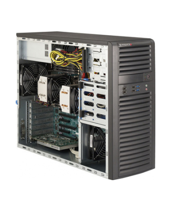 Mid-Tower, 4x 3.5'' internal tool-less HDD bays w/ 2x Xeon E5-2600 support, C602