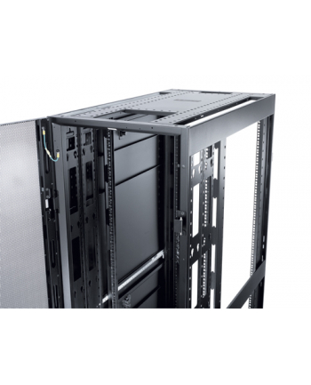 NetShelter SX 48U/600mm/1200mm Enclosure with Roof and Sides Black