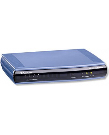 MediaPack 114 Analog VoIP Gateway, 4 FXS, SIP Packageincluding 4 FXS analog lines, single 10/100 BaseT, AC power supply, life line support (requires additional life line cable), G.711/723.1/726/727/729AB Vocoders, SIP