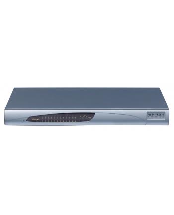 MediaPack 124 Analog VoIP Gateway, 24 FXS, SIP Packageincluding 24 FXS analog lines, single 10/100 BaseT, AC power supply, G.711/723.1/726/727/729AB Vocoders, SIP