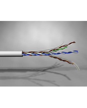 Kbl. U/UTP PowerCat 6, 4 pary, LSZH, 500m, Fioletowy