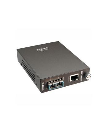 1000BaseT to 1000BaseLX (SC) Singlemode Media Converter