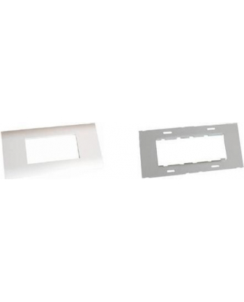Mounting set for cable trunks, frame S99 + MS mounting plate, suitable for 45x45 installation switch