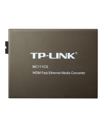 MC111CS Media konwerter 10/100M, WDM