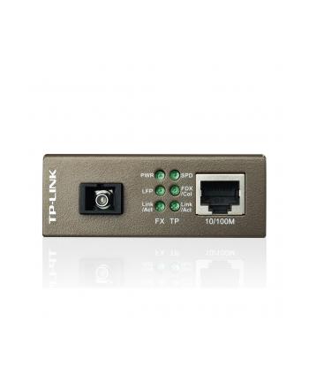 MC112CS Media konwerter 10/100M, WDM