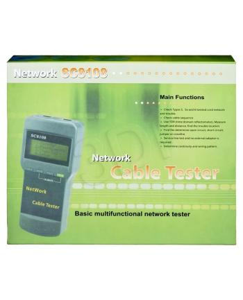 Tester okablowania LCD MT-8108        NI022