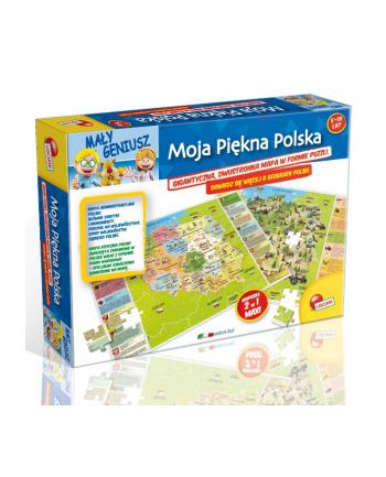 LISCIANIGIOCHI Mały Geniusz Moja Polska