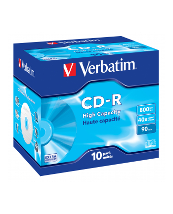 Verbatim CD-R [ jewel case 10   800MB   40x   DataLife ]
