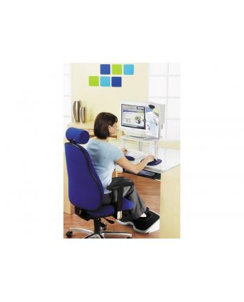 Podkładka pod klawiaturę Gel Keyboard Wristres - żelowa, niebieska