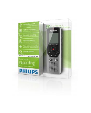 Dyktafon cyfrowy PHILIPS DVT1200 4GB