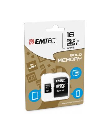 EMTEC MICRO SD 16GB Class 10