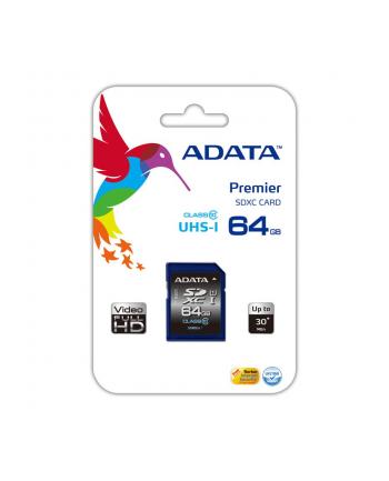 SDXC Premier 64GB UHS-1/class10