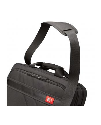 Case Logic DLC115 Laptop Case for 15.6''/ Polyester/ Black/ (38.5 x 4.4 x 26.7 cm)