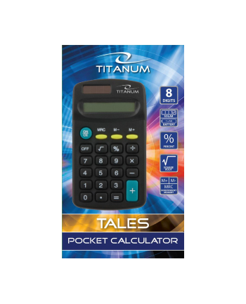 Esperanza TITANUM TALES KALKULATOR KIESZONKOWY TCL101